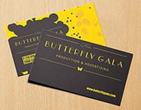 Butterfly Gala Business Card