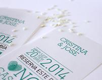 CRISTINA & JOSE | Invitación boda