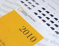 National Geographic Calendar / Award Winning Project