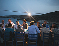 A christening at Serifos island.