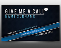 Simple Business Card - Free Download