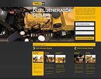 Borusan Güç Sistemleri - One Page Website