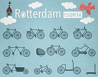 Ipad vector drawing: Rotterdam