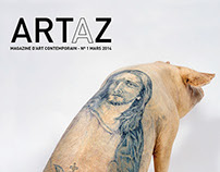 Contemporary art magazine