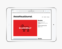 Aesse Visual Journal · Identity and website.