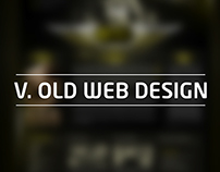 V. Old Web Design