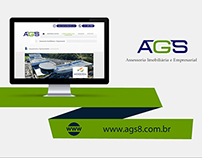 Web Design | Website criado para a empresa AGS