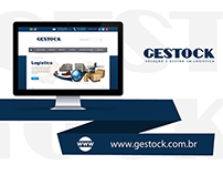 Web Design | Website criado a empresa Gestock