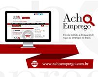 Web Design | Website empresa Acho Emprego