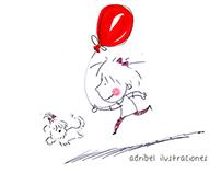 El globo rojo y otros