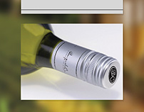 Benguela Cove wine - Screw Cap Redesign