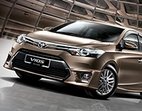 TOYOTA VIOS - DISTINCTIVELY STUNNING