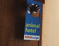 MASkargo Animal Hotel identity