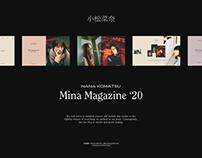 小松菜奈 Mina Magazine '20—Nana Komatsu