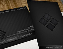 Business Card Design - 7slash6 Design Studio