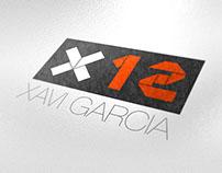 Xavi García logo & web