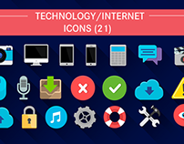Flat Icons Pack // Videohive