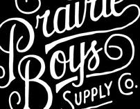 Prairie Boys Supply Co. Branding