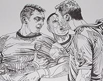 Ozil and Ivanovic
