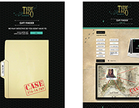 'Tidy & Co.' Online Gifting Site - Digital Campaign.