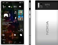 Concept Nokia WP8 Window phone