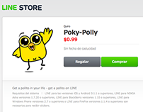 Poky-Polly - stickers para LINE
