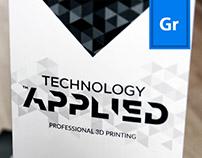 Technology Applied | brochure design