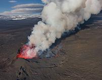 Eruption at Holuhraun - Iceland