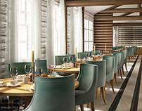 """ DAFNE"" Restaurant Design"