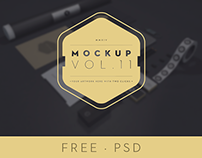Branding / Identity MockUp Vol.11 - FREE PSD