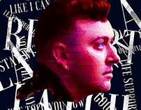 Sam Smith Digital Portrait
