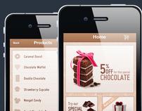 Sweet - A chocolate shopping App