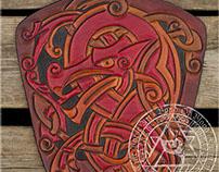 "Viking Styled Bracer ""Fenrir"""