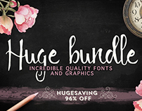 Incredible Quality Fonts and graphics