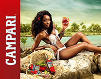 CAMPARI - Caribbean Poster Girl Campaign