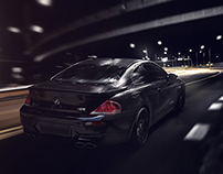 Car Compositing In Photoshop