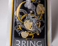 3 Ring Circus Poly Bag