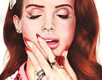 Lana Del Rey / Ilustración.