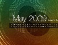 Calendar Wallpaper Series 2009