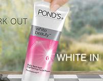 Ponds White Beauty Campaign Branding Activation- Ogilvy