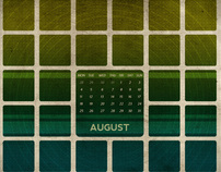 Calendar Wallpaper Series 2008