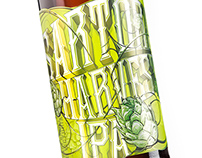 Driftwood Brewery's Sartori Harvest IPA Label Design