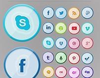 32 Free Social Media Icons