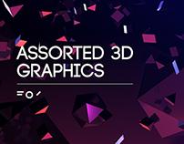 Assorted 3D Graphics