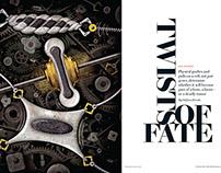 Scientific American spread art