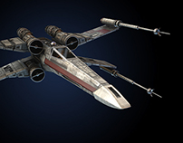 Star Wars X Wing fighter