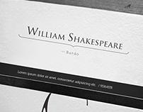 William Shakespeare / The Bardo