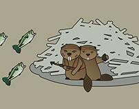 Beavers defend the lodge