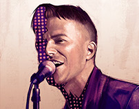 Brandon Flowers - Illustration