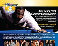 Justin Tuck's Celebrity Billiards
